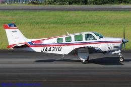 Chofu Spotter Ariaさんが、静岡空港で撮影した日本個人所有 A36 Bonanza 36の航空フォト(写真)