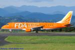 Chofu Spotter Ariaさんが、静岡空港で撮影したフジドリームエアラインズ ERJ-170-200 (ERJ-175STD)の航空フォト(飛行機 写真・画像)