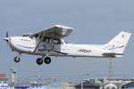 Chofu Spotter Ariaさんが、八尾空港で撮影したスカイフォト 172S Skyhawk SPの航空フォト(飛行機 写真・画像)