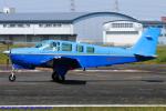 Chofu Spotter Ariaさんが、八尾空港で撮影した日本個人所有 A36 Bonanza 36の航空フォト(写真)
