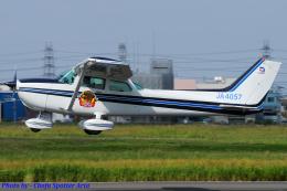 Chofu Spotter Ariaさんが、八尾空港で撮影した日本個人所有 172P Skyhawk IIの航空フォト(写真)