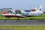 Chofu Spotter Ariaさんが、八尾空港で撮影したアジア航測 208 Caravan Iの航空フォト(飛行機 写真・画像)