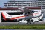 Chofu Spotter Ariaさんが、八尾空港で撮影した朝日航空 172S Skyhawk SPの航空フォト(飛行機 写真・画像)