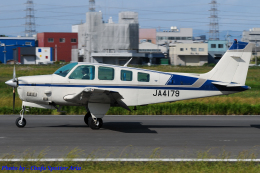 Chofu Spotter Ariaさんが、八尾空港で撮影した日本個人所有 A36TC Bonanzaの航空フォト(写真)