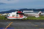 Chofu Spotter Ariaさんが、八尾空港で撮影した朝日航洋 AS332L1 Super Pumaの航空フォト(飛行機 写真・画像)