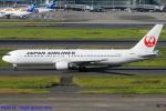 Chofu Spotter Ariaさんが、羽田空港で撮影した日本航空 767-346/ERの航空フォト(写真)