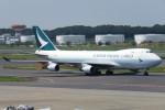 SFJ_capさんが、成田国際空港で撮影したキャセイパシフィック航空 747-467F/ER/SCDの航空フォト(写真)