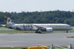 SFJ_capさんが、成田国際空港で撮影したエティハド航空 787-9の航空フォト(写真)
