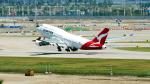 FlyingMonkeyさんが、仁川国際空港で撮影したカンタス航空 747-438/ERの航空フォト(写真)