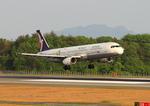 ふじいあきらさんが、広島空港で撮影したマカオ航空 A321-111の航空フォト(飛行機 写真・画像)