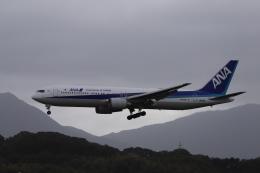 m_aereo_iさんが、福岡空港で撮影した全日空 767-381/ERの航空フォト(飛行機 写真・画像)