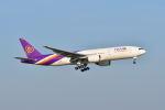ポン太さんが、スワンナプーム国際空港で撮影したタイ国際航空 777-2D7/ERの航空フォト(写真)