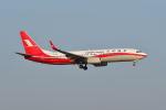 ポン太さんが、スワンナプーム国際空港で撮影した上海航空 737-89Pの航空フォト(写真)