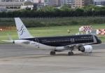 そら丸さんが、福岡空港で撮影したスターフライヤー A320-214の航空フォト(写真)