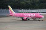 そら丸さんが、福岡空港で撮影したフジドリームエアラインズ ERJ-170-200 (ERJ-175STD)の航空フォト(飛行機 写真・画像)