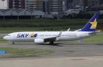 そら丸さんが、福岡空港で撮影したスカイマーク 737-8ALの航空フォト(飛行機 写真・画像)