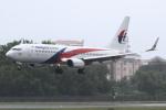 kinsanさんが、コタキナバル国際空港で撮影したマレーシア航空 737-8H6の航空フォト(写真)