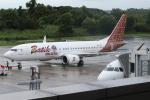 kinsanさんが、コタキナバル国際空港で撮影したマリンド・エア 737-8-MAXの航空フォト(写真)