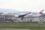kinsanさんが、福岡空港で撮影した日本航空 A350-941XWBの航空フォト(写真)