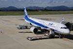 そら丸さんが、広島空港で撮影した全日空 A321-272Nの航空フォト(写真)