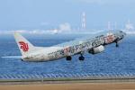 yabyanさんが、中部国際空港で撮影した中国国際航空 737-86Nの航空フォト(飛行機 写真・画像)