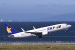 Jyunpei Ohyamaさんが、中部国際空港で撮影したスカイマーク 737-82Yの航空フォト(写真)