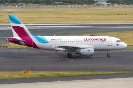 航空フォト:D-ABGQ ユーロウイングス A319