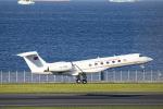 SGR RT 改さんが、羽田空港で撮影したトルコ政府 G-V-SP Gulfstream G550の航空フォト(写真)