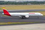 PASSENGERさんが、デュッセルドルフ国際空港で撮影したイベリア航空 A321-211の航空フォト(写真)