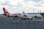 kahluamilkさんが、タリン空港で撮影したターキッシュ・エアラインズ A321-231の航空フォト(写真)