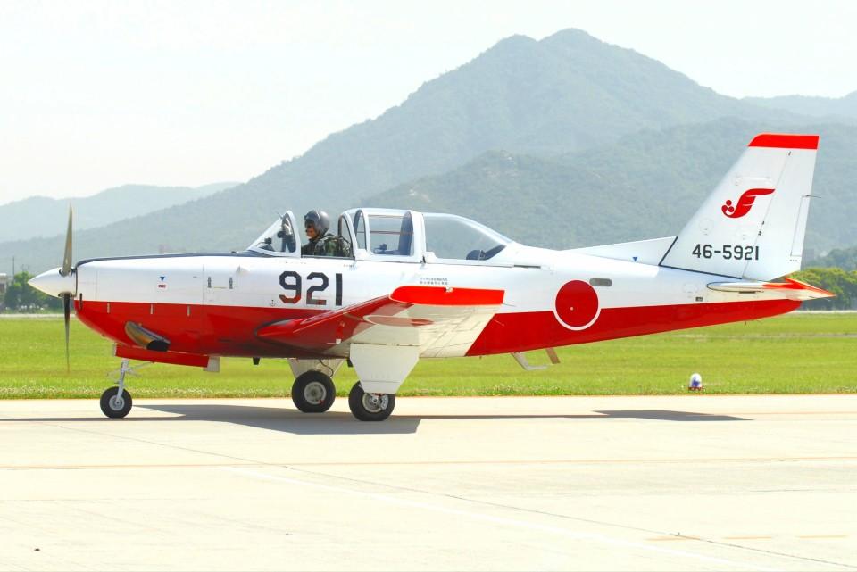 デデゴンさんの航空自衛隊 Fuji T-7 (46-5921) 航空フォト