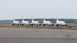 うみBOSEさんが、新千歳空港で撮影したAIR DO 737-781の航空フォト(写真)