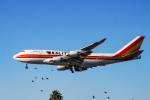 LAX Spotterさんが、ロサンゼルス国際空港で撮影したカリッタ エア 747-4H6(BCF)の航空フォト(写真)