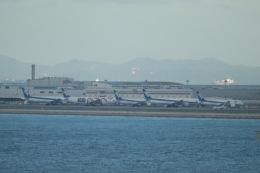 tmkさんが、関西国際空港で撮影した全日空 777-381/ERの航空フォト(写真)