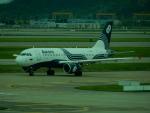 kiyohsさんが、仁川国際空港で撮影したオーロラ A319-111の航空フォト(写真)