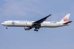 ぐっちーさんが、羽田空港で撮影した日本航空 777-346/ERの航空フォト(写真)