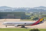 安芸あすかさんが、金浦国際空港で撮影したアシアナ航空 A330-323Xの航空フォト(写真)