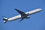 T.Kawaseさんが、羽田空港で撮影したキャセイパシフィック航空 777-367/ERの航空フォト(写真)