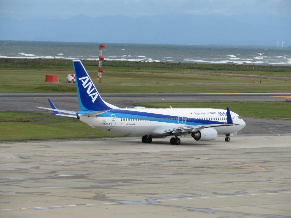 いぶちゃんさんの全日空 Boeing 737-800 (JA58AN) 航空フォト