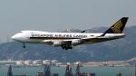 FlyingMonkeyさんが、香港国際空港で撮影したシンガポール航空カーゴ 747-412F/SCDの航空フォト(写真)