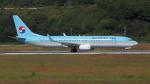 撮り撮り人さんが、岡山空港で撮影した大韓航空 737-9B5/ER の航空フォト(写真)