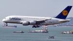 FlyingMonkeyさんが、香港国際空港で撮影したルフトハンザドイツ航空 A300B4-603の航空フォト(写真)