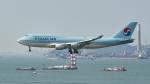 FlyingMonkeyさんが、香港国際空港で撮影した大韓航空 747-4B5の航空フォト(写真)