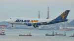 FlyingMonkeyさんが、香港国際空港で撮影したアトラス航空 747-45E(BDSF)の航空フォト(写真)
