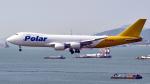 FlyingMonkeyさんが、香港国際空港で撮影したポーラーエアカーゴ 747-87UF/SCDの航空フォト(写真)