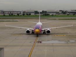 カップメーンさんが、ドンムアン空港で撮影したノックエア 737-88Lの航空フォト(飛行機 写真・画像)