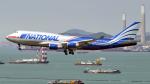FlyingMonkeyさんが、香港国際空港で撮影したナショナル・エア・カーゴ 747-428(BCF)の航空フォト(写真)