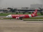 カップメーンさんが、ドンムアン空港で撮影したタイ・エアアジア A320-216の航空フォト(写真)