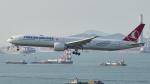 FlyingMonkeyさんが、香港国際空港で撮影したターキッシュ・エアラインズ 777-3F2/ERの航空フォト(写真)