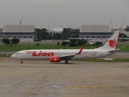 カップメーンさんが、ドンムアン空港で撮影したタイ・ライオン・エア 737-9GP/ERの航空フォト(飛行機 写真・画像)
